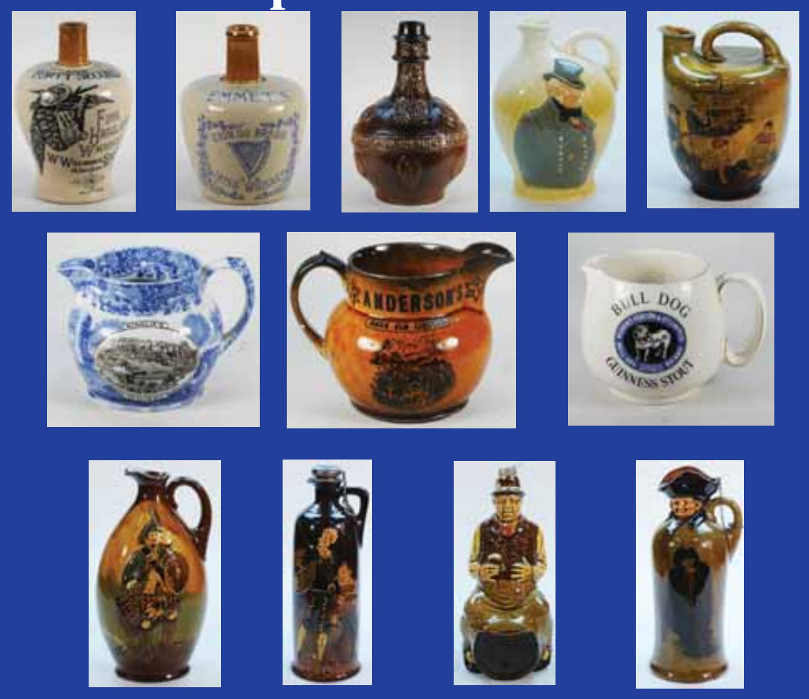 Live Auction Of Antique Bottles & Collectables