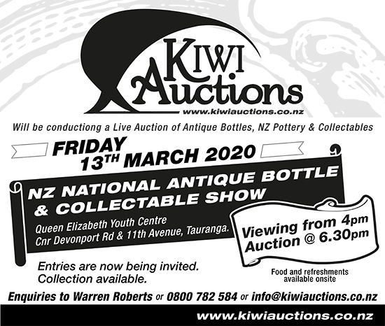 NZ National Antique Bottle & Collectable Show